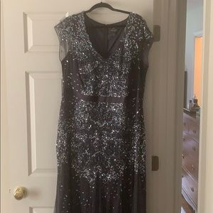 Adrianna Papell Sequin Formal Gown